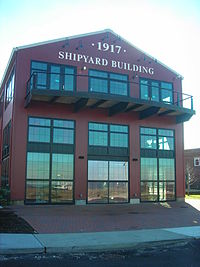 Bayles Shipyard 1917 Machine Shop and Mould Loft Dec 07.jpg