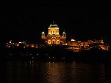 Photo de la cathédrale d'Esztergom.