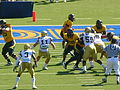 Bears on offense at UCLA at Cal 2010-10-09 7.JPG