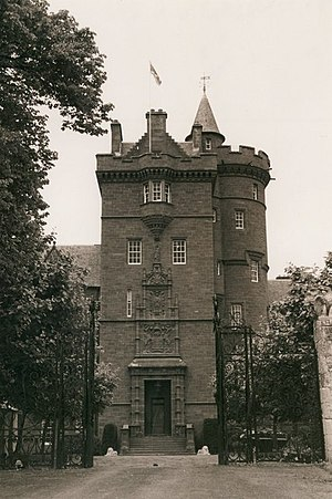 Clan Fraser of Lovat - Beaufort Castle built in 1882, former seat of the chief of Clan Fraser of Lovat that replaced Castle Dounie