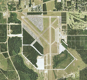 Beauregard Regional Airport - USGS aerial image as of 2006