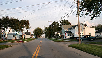 Beaverdam, Ohio - Streetside in Beaverdam