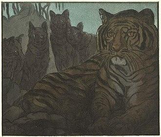 Shere Khan - Image: Becque Livre de la jungle, p 27