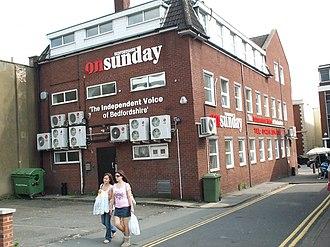 Bedfordshire on Sunday - Former Bedfordshire on Sunday offices