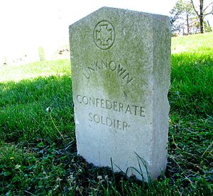 Confederate Memorial Day - Image: Beech Grove Confederate Cemetery grave tn 1