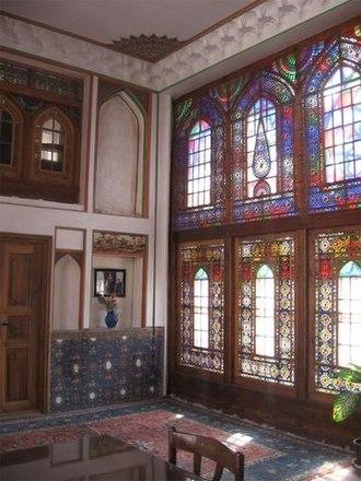 Behnam House - Image: Behnam House Tabriz Interior