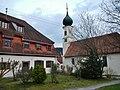 Beim 366 km langen Neckartalradweg, Katholische Kirche St. Georg in Starzach-Sulzau - panoramio.jpg