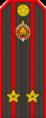 Belarus Police—05 Lieutenant Colonel rank insignia (Gunmetal).png