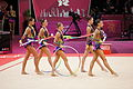 Belarus Rhythmic gymnastics team 2012 Summer Olympics 11.jpg