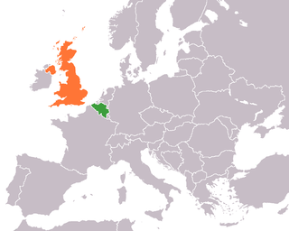 Diplomatic relations between the Kingdom of Belgium and the United Kingdom of Great Britain and Northern Ireland
