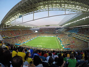 Arena Corinthians - Arena Corinthians during the 2014 World Cup