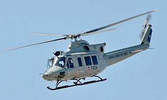 Bell 412 - Chilean Air Force Bell 412