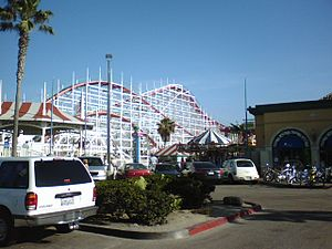 Belmont Park (San Diego) - Image: Belmont Park with Giant Dipper