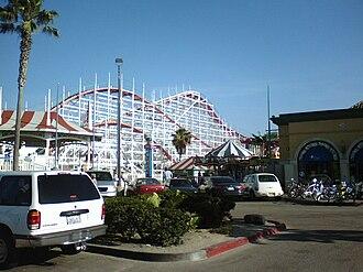 Belmont Park (San Diego) - Image: Belmont Park with Giant Dipper