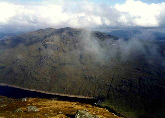 Ben Vorlich, Loch Lomond - Ben Vorlich seen from Ben Vane with Loch Sloy in the valley