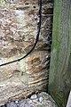 Benchmark on Pippy Oak Barn (geograph 4309011).jpg