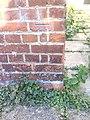 Benchmark on former school building in Pebble Lane - geograph.org.uk - 2130653.jpg