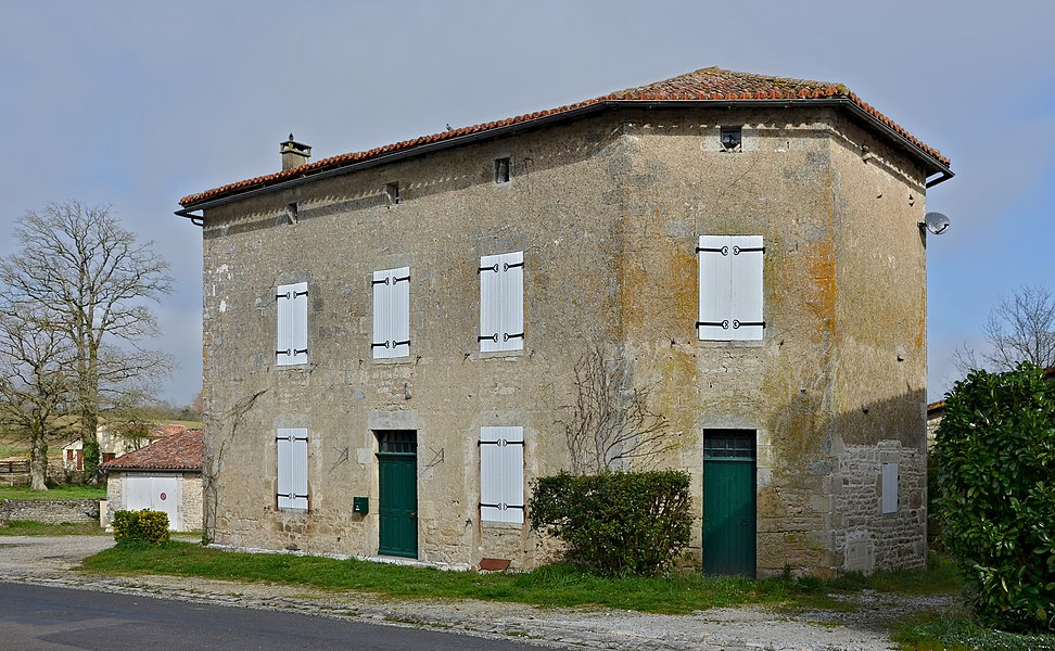 Traditionnal village house in Benest, Charente , France