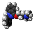 Benzydamine molecule spacefill.png