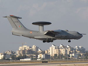 EL/W-2090 - A-50EI (Il-76) of the Indian Air Force with the EL/W-2090