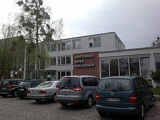 Gottfried Benn - Library in Berlin named after Gottfried Benn