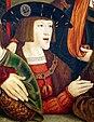 Karl V. als Jüngling, Gemälde von Bernhard Strigel