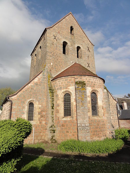 Besny et Loizy (Aisne) église