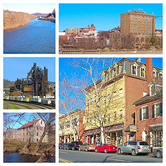 Bethlehem, Pennsylvania - Image: Bethlehem PA Photo Collage