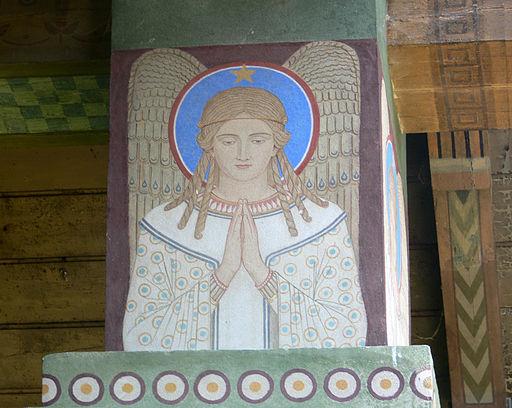Beuron Mauruskapelle Engel 2