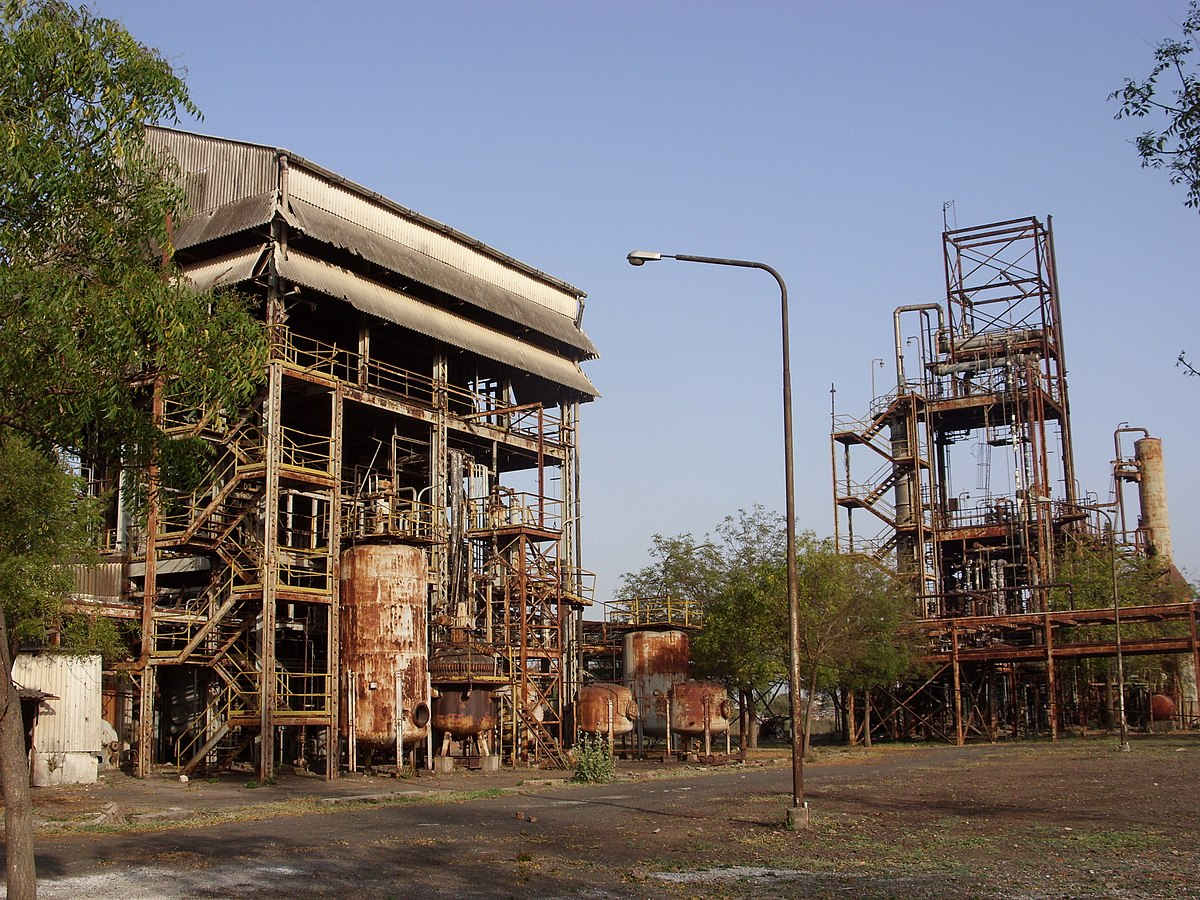 an overview of the union carbide plant in bhopal
