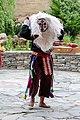 Bhutanese masked dancer, Paro 02.jpg