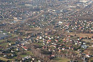 Mikuszowice District of Bielsko-Biała in Silesian Voivodeship, Poland