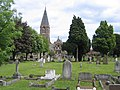 Biggleswade Cemetery, Beds - geograph.org.uk - 175001.jpg