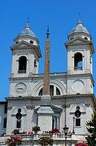 Santissima Trinità dei Monti.