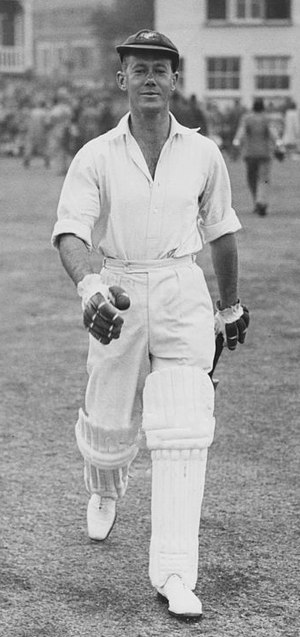 Bill Brown (cricketer) - Bill Brown in the 1930s