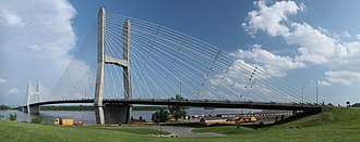 Cape Girardeau, Missouri - Bill Emerson Bridge.