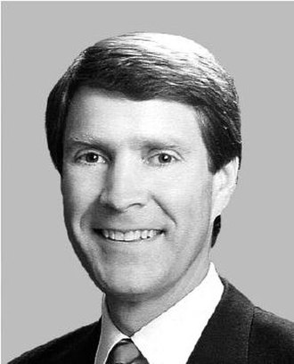1994 United States Senate election in Tennessee - Image: Bill Frist black and white photo