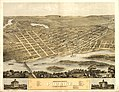 Bird's eye view of the city of Portage, Columbia Co., Wisconsin 1868. LOC 73694548.jpg