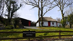 Margaret Haughery - A replica of the cottage in which Margaret Haughery (nee Gaffney) was born.