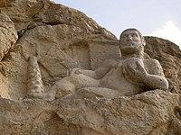 Hellenistic-era depiction of Bahram as Hercules.