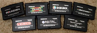Bit Generations - bit Generations cartridges.