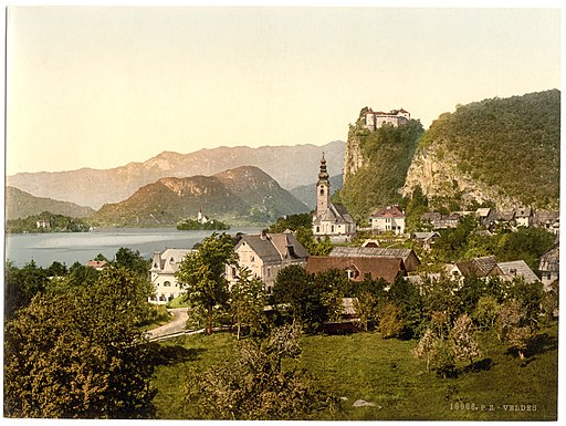 Bled in the 1890s