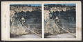 Blondin 1860. (Tightrope artist 'Blondin' crosses over the river.), from Robert N. Dennis collection of stereoscopic views.png