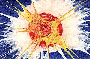 spin art, twirl paint, swirl