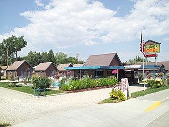 National Register of Historic Places listings in Johnson County, Wyoming - Image: Blue Gables Motel Buffalo Wyoming