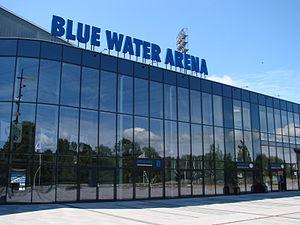 Esbjerg Stadium - Image: Blue water arena esbjerg