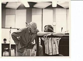 Bob Curnow - Image: Bob Curnow & Stan Kenton, United Western Studio Nat'l Anthems album