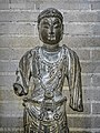 Bodhisattva Limestone 700 CE Tang Dynasty (618-907 CE) China Penn Museum 02.jpg