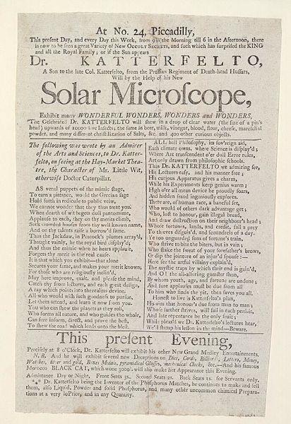 File:Bodleian Libraries, Handbill announcing Wonderful wonders, wonders and wonders.jpg
