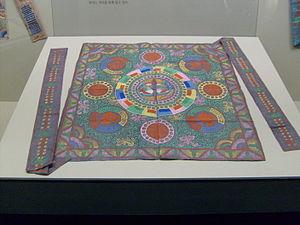 Bojagi - Non-patchwork royal bojagi.
